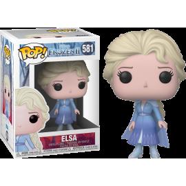 Figurine Frozen 2/ La Reine des Neiges 2 - Elsa Pop 10cm