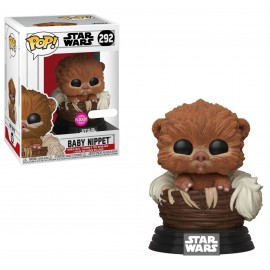 Figurine Star Wars - Baby Nippet Flocked Exclusive Pop 10cm