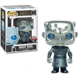 Figurine Game of Thrones - Night King Metallic Exclusive Pop 10cm