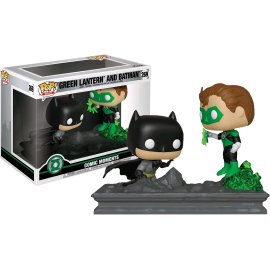 Figurine Dc Comics Batman - Green Lantern (Jim Lee) and Batman Comic Moments Exclusive Pop 15cm