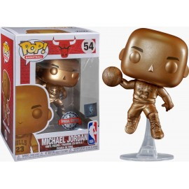 Figurine Sport NBA - Bulls Michael Jordan Bronze Exclusive Pop 10cm