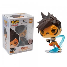 Figurine Overwatch - Tracer with Gun Pop 10cm