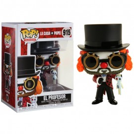 Figurine La Casa de Papel - El Profesor Clown Pop 10cm