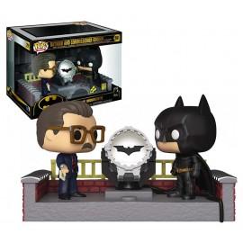 Figurine Batman 80th - Batman and Commissioner Gordon Lights Up Movie Moment Pop 15cm