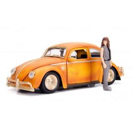 Figurine Transformers - Réplique Bumblebee Volkswagen Beetle 1/24 métal