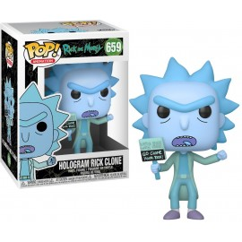 Figurine Rick & Morty - Hologram Rick Clone Pop 10cm