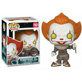 Figurine IT / Ca Chapter 2 - Pennywise with Blade Special Edition Pop 10 cm