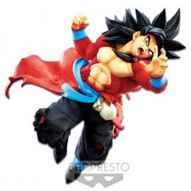 Figurine Super Dragon Ball Heroes - Super Saiyan 4 Son Goku Xeno 9th Anniversary SDBH 15cm