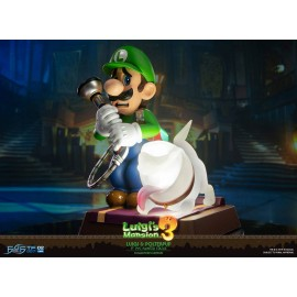 Figurine Luigi's Mansion 3 - Statuette Luigi & Polterpup Collector's Edition 23 cm