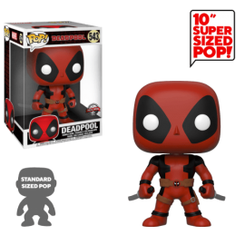 Figurine Deadpool - Two Sword Red Deadpool Supersized Pop 25cm