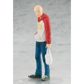 Figurine One Punch Man - Statuette Pop Up Parade Saitama Oppai Hoodie 17 cm