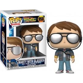 Figurine Retour vers le Futur - Marty with Glasses Pop 10cm