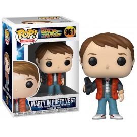 Figurine Retour vers le Futur - Marty in Puffy Vest Pop 10cm