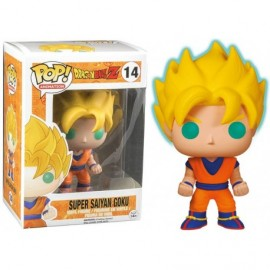 Figurine Dragon Ball Z - Goku Super Saiyan Glow in the Dark Pop 10cm