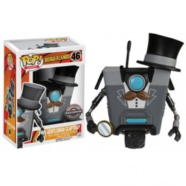 Figurine Borderlands - Gentleman Claptrap Exclusive 10cm