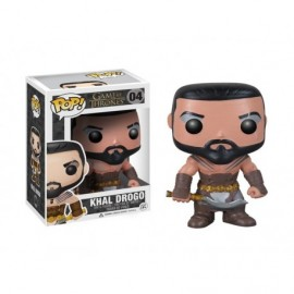 Figurine Game Of Thrones - Khal Drogo Pop 10cm