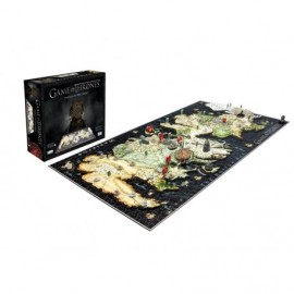 Puzzle - Game Of Thrones - 4D Cityscape Puzzle