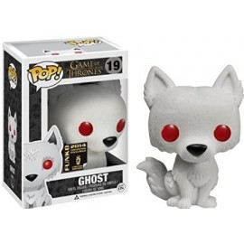 Figurine Game of Thrones - Flocked Ghost SDCC Pop 10cm