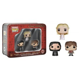 Figurine Game of Thrones - Pocket Pop Tin Box pack de 3