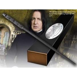 Figurine Harry Potter - Baguette Magique Professor Severus Snape (édition personnage)