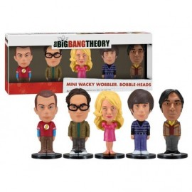 Pack 5 Mini Bobble Head Big Bang Theory 8cm