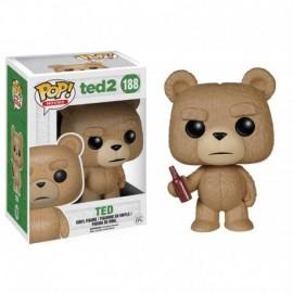 Pop Collection - Ted avec bière - 10 cm