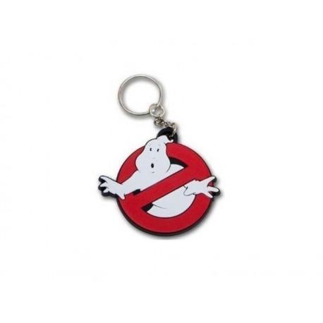 Porte Clé - Ghostbusters - logo en Gomme
