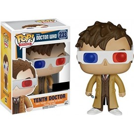Pop Collection - Doctor Who - 10th Docter avec lunettes 3D - Exlu