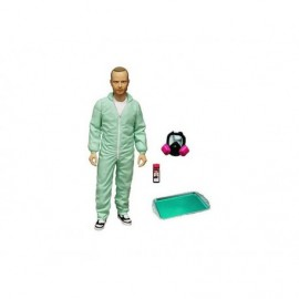 Figurine Breaking Bad - Jesse Pinkman in Blue Hazmat Suit Previews Exclusive 15 cm