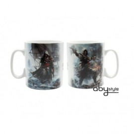Mug - Assassin's Creed 4 - Edward Porcelaine 460ml