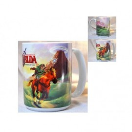 Mug The Legend of Zelda - Zelda Ocarina of Time 3D Vert 320ml