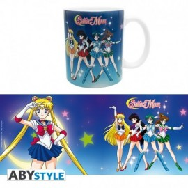 Mug Sailor Moon - Sailor Guerrières 320ml