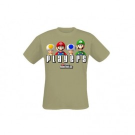 T-Shirt - Nintendo - Players - Kaki - Taille L