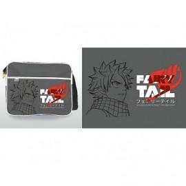 Sac besace - Fairy Tail - Katakana Gris grand Format