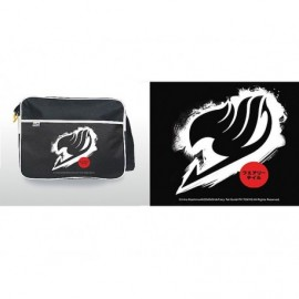 Sac besace - Fairy Tail - Logo Blanc grand Format