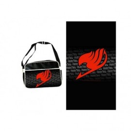 Sac besace - Fairy Tail - Sac Coursier Logo Rouge grand Format