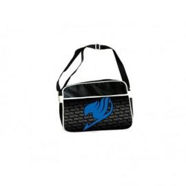 Sac besace - Fairy Tail - Sac Coursier Logo Bleu grand Format