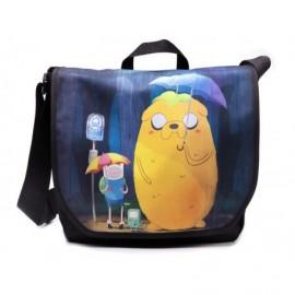 Sac Besace - Adventure Time - Finn & Jake in Totoro Style