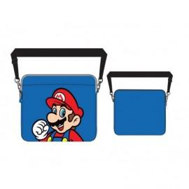Sac Laptop - Mario - Bleu