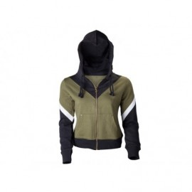 Sweat-Shirt - Zelda - Logo Kaki et noir - Coupe Femme - Taille L