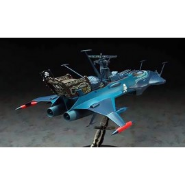 Maquette - Albator - Space Pirate Battleship Arcadia Second ship