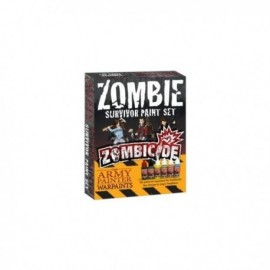 Zombicide - Zombie Survivor Paint Set