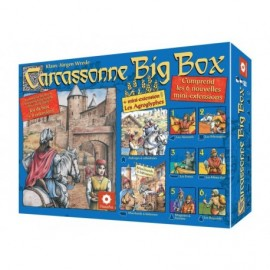 Carcassonne - Big box II - jeu de base et 9 extensions