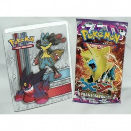 Booster XY4 Pokemon Phantom Forces + Album collector