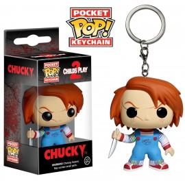 Figurine Chucky - Chucky Porte Clé Pocket Pop 4 cm