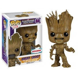 Figurine Guardians of the Galaxy - Angry Groot Exclusive Pop 10cm