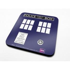 Doctor Who - Sous-verres Tardis 10cm