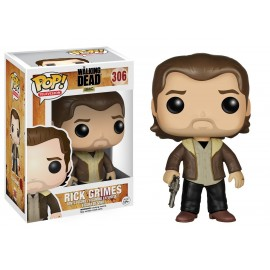 Figurine The Walking Dead - Rick Grimes saison 5 Pop 10cm