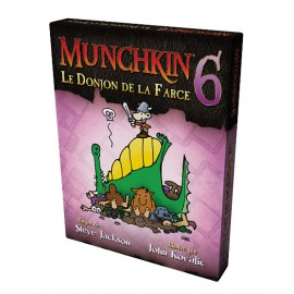 Munchkin - Extension n° 6 - Le Donjon de la Farce - Version française