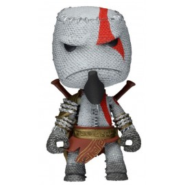 Figurine Little Big Planet - Sackboy Kratos Cosplay 14cm Série 1